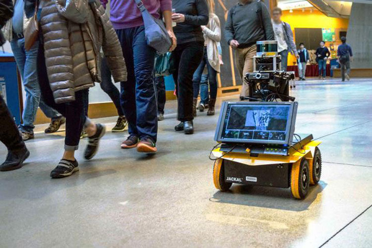On Your Left! Adept new robot rolls sociably with pedestrians