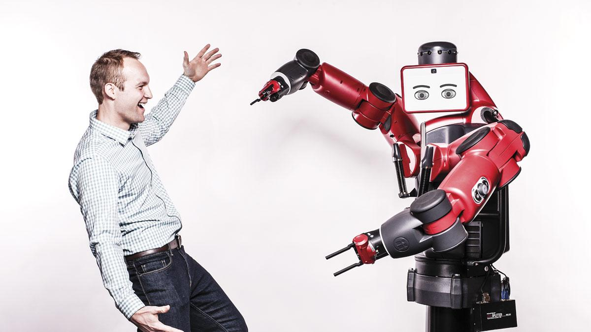 This orchestra conductor has moved robots closer to humans