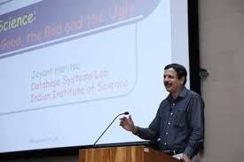 Data Science decoded at the eighth Roddam Narasimha lecture at IIT Gandhinagar