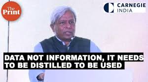 Big data not new, but must be converted to knowledge: Govt's science adviser VijayRaghavan