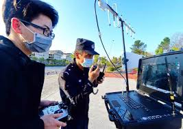 Robots, drones, AI and big data bring modern touch to disease control in China
