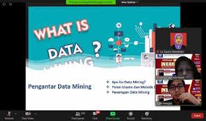 UBSI Bombay Campus Webinar Data Mining