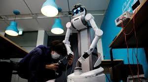 Robot built for Japan's ageing workforce finds coronavirus role