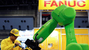 Japanese robots help workers keep social distance on factory floor