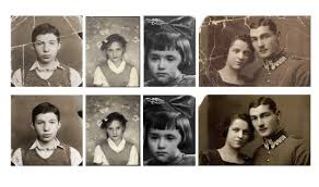 Deep Learning Restores Time-Ravaged Photos