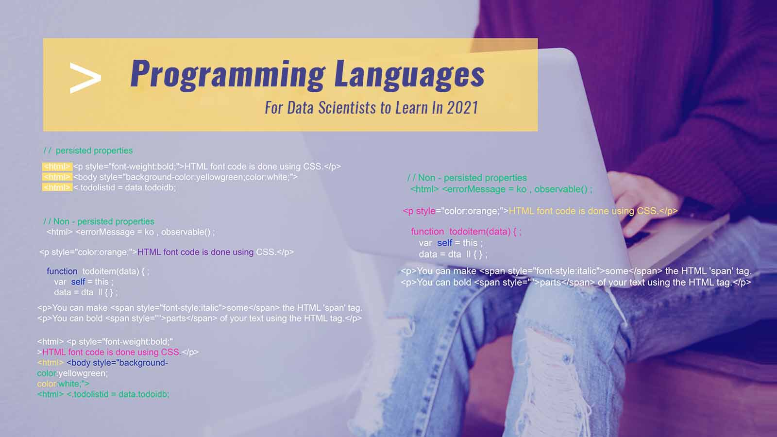 Top Programming Languages For Data Scientists In 2021