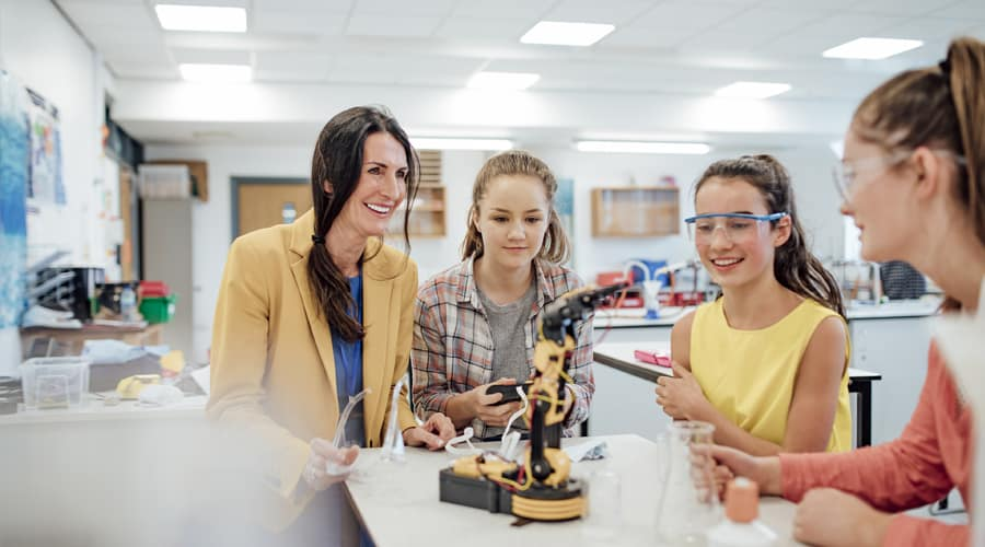 CAN MACHINE LEARNING BE THE BEST REMEDY IN THE EDUCATION SECTOR?
