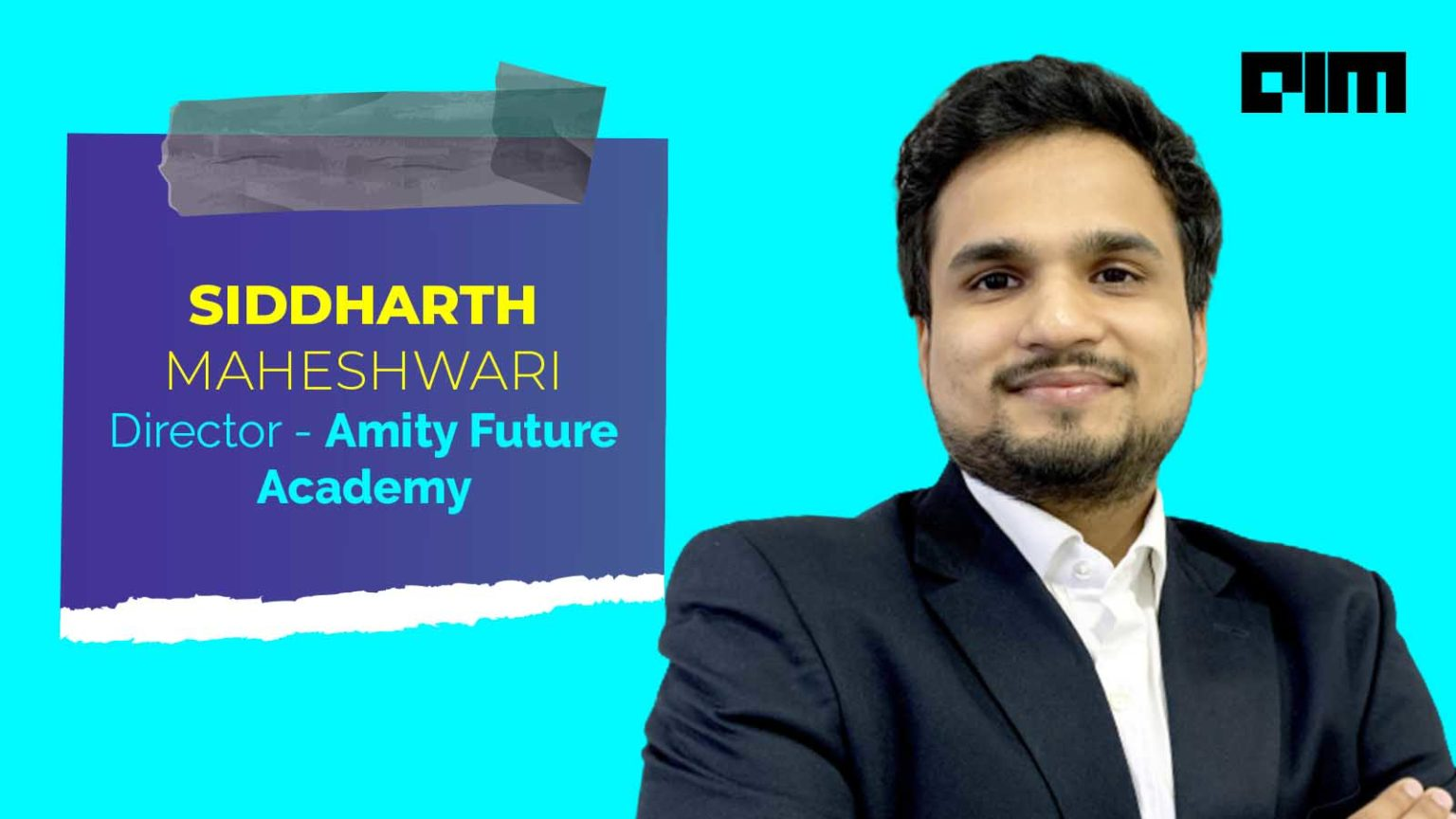 Lack Of Awareness Is The Biggest Barrier To Data Science Education In India: Director, Amity Future Academy