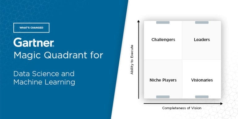 What's Changed: 2021 Gartner Magic Quadrant for Data Science and Machine Learning Platforms