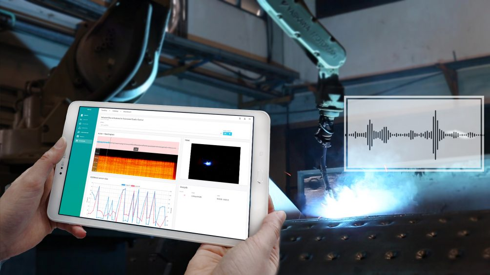 Acoustic Quality Control with the Help of Artificial Intelligence