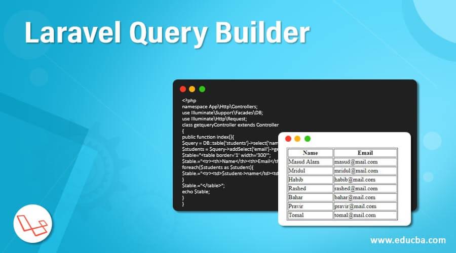 Basic Query in Laravel PHP Framework
